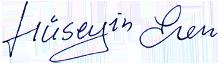 Signatur Hüseyin Eren
